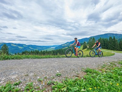 Radfahren in Oberstaufen