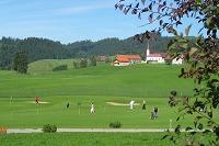 Driving Range des Golfclub Oberstaufen