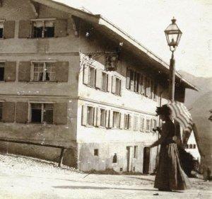Hotel Löwen alte Ansicht