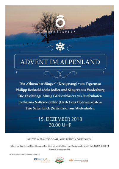 Advent im Alpenland