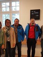 Vertreter vom Pilotprojekt Tourismus macht Schule
