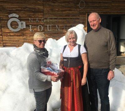 Familie Hanke Gästeehrung