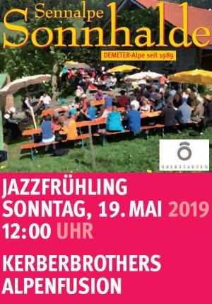 Jazzfrühling auf der Sennalpe Sonnhalde