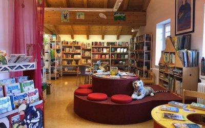 Bücherei schön