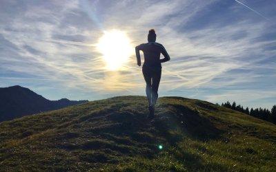 Joggen rund um Oberstaufen