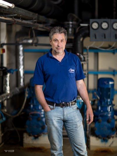 Norbert Weizenegger - techn. Leiter Aquaria
