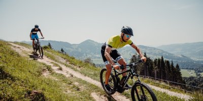 Biken rund um Oberstaufen