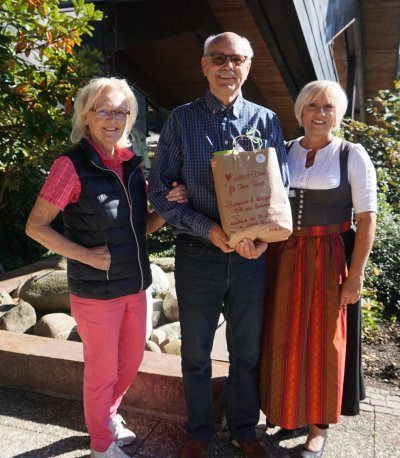 Rosemarie und Wolfgang Kölb aus Hochheim