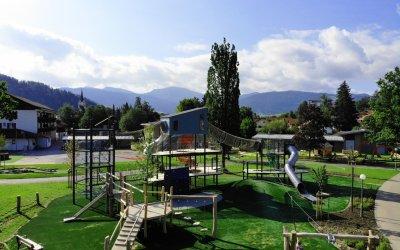 neuer Erlebnis-Spieplatz Oberstaufen