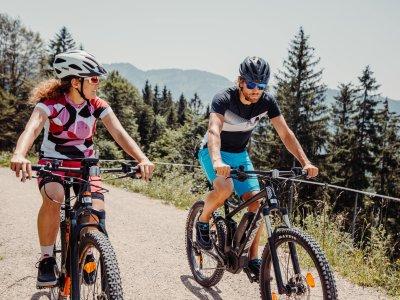 E-Bike rund um Oberstaufen