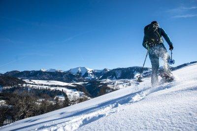 Schneeschuh Festival Oberstaufen mit geführten Touren