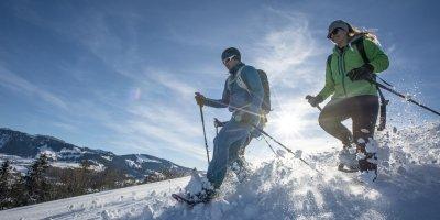 Schneeschuhtour über den Großen Alpsee