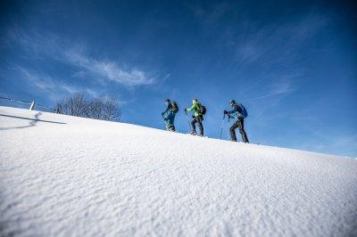 Oberstaufen Winter Schneeschuh