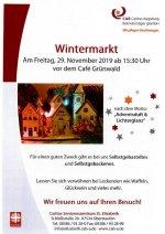 Wintermarkt im Seniorenzentrum Oberstaufen