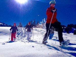 Schneeschuhtour mit Oli Presser