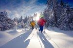 Mittagstour auf Schneeschuhen