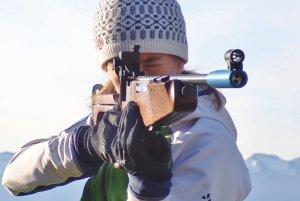Schnupper-Biathlon mit Kerstins Langlaufschule