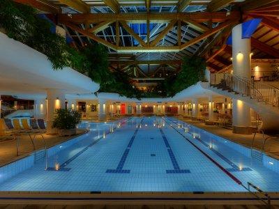 Schwimmerbecken Erlebnisbad Aquaria