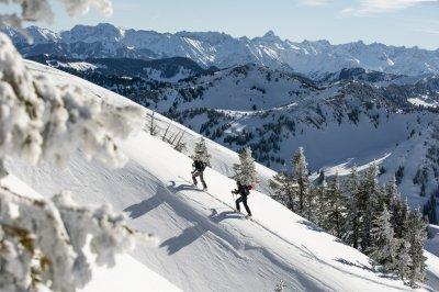 Skitour auf den Hochgrat