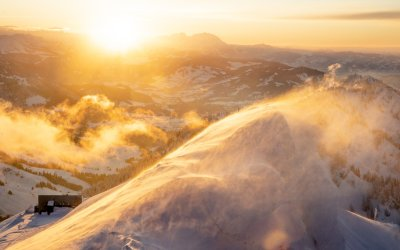 Sonnenuntergang Hochgrat