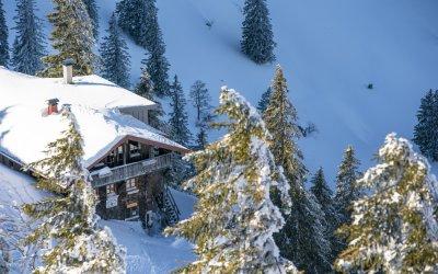 Hochgrat Winter Staufner Haus