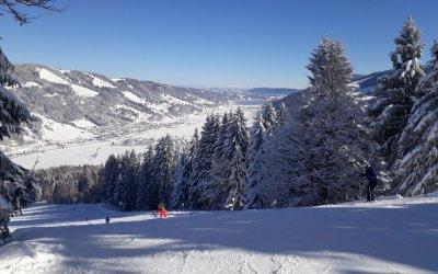 Hündle Skifahren