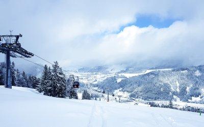 Winter am Hündle