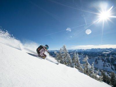 Skifahren Hochgrat