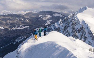 Skitouren mit Ausblick