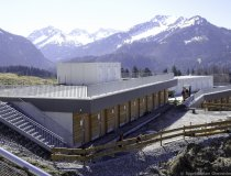 Baumaßnahme Skisprungstadion 08.04.2020