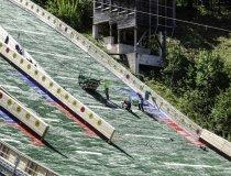 Baumaßnahme Skisprungstadion 12.05.2020
