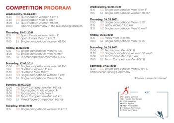 Competition Program ENG