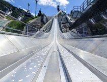 Baumaßnahme Skisprungstadion 12.07.2020