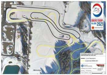 NWM21 CC map 1 2km Team sprint