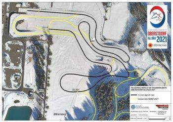 NWM21 CC map 1 5km Sprint