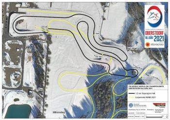 NWM21 CC map 1 5km Team sprint NC