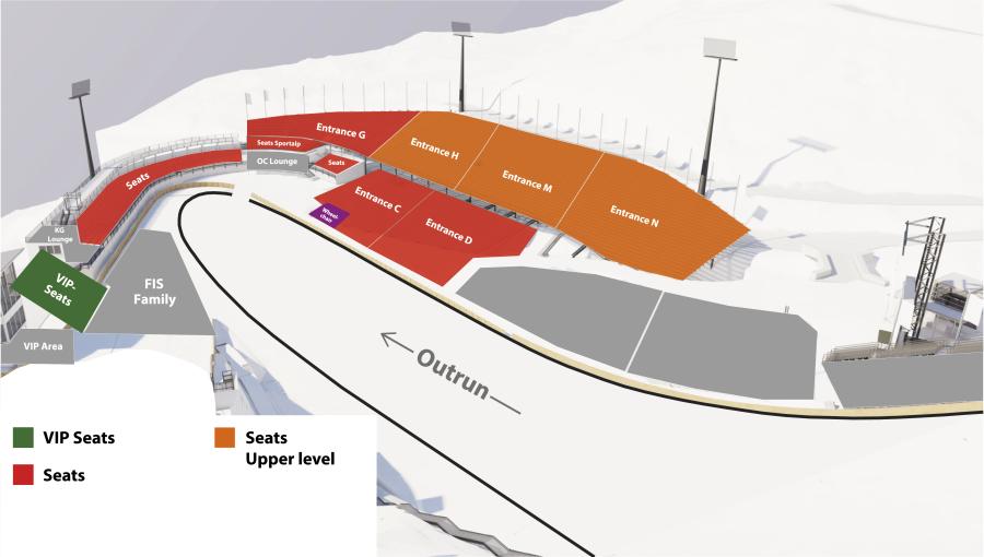 Stadionplan SJ NWM Sitzplätze