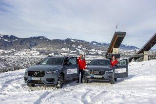 Die WM fährt Hybrid mit Volvo-Fahrzeugen