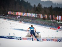 Jessi DIGGINS (USA) competes in the Cross Country Women 7.5km Classic + 7.5km Free Skiathlon