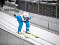 Gyda Westvold Hansen (NOR) competes in the Women Individual Gundersen NH/5km competition round