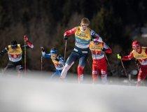 Erik VALNES (NOR) competes in the Cross Country Men Team Sprint