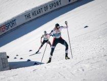 Joergen Grabak (NOR) competes in the Men Nordic Combined Team Gundersen NH/4x5km competition round