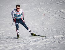 Jarl Magnus Riiber (NOR) competes in the Men Nordic Combined Team Gundersen NH/4x5km competition round