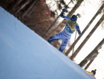 Frida KARLSSON from Sweden competes in the Cross Country Women 10.0 km Interval Start