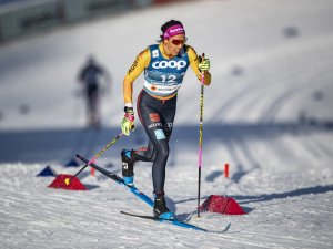 Sofie KREHL (GER) competes in the Cross Country Women Sprint Classic Qualification