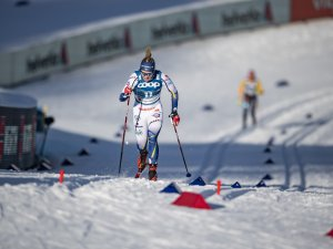 Jonna SUNDLING (SWE) competes in the Cross Country Women Sprint Classic Qualification