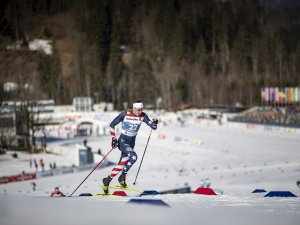Kevin BOLGER (USA) competes in the Cross Country Men Sprint Classic Qualification
