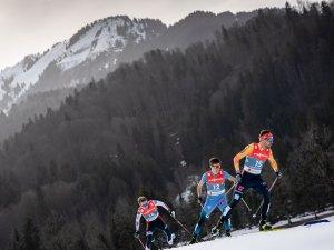 Johannes RYDZEK (GER) competes Nordic Combined Men Individual Gundersen NH/10.0km