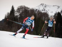 Sjur ROETHE (NOR) competes in the Cross Country Men 15.0 km Interval Start Free