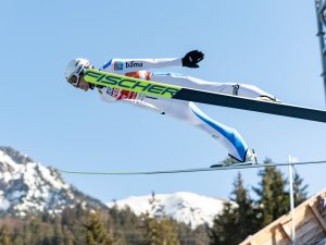 Jarl Magnus RIIBER (NOR) competes in the Nordic Combined Team Gundersen NH/4x5km